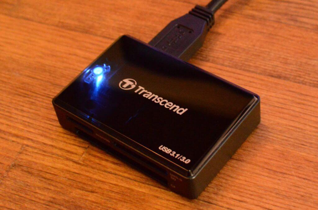 カードリーダーをUSB2.0→USB3.1に買い替えたら爆速になった   Transcend RDF9Kレビュー
